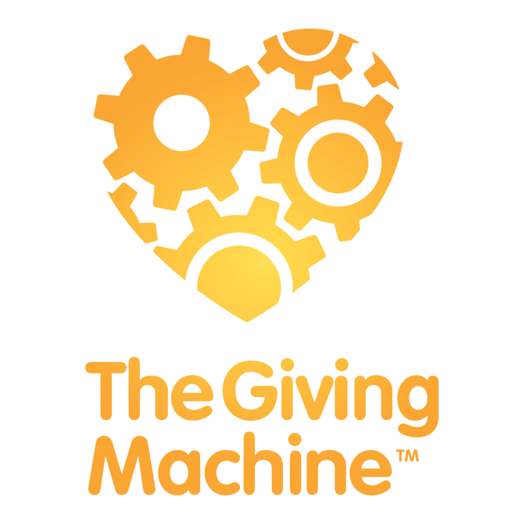 Giving Machine stacked logo